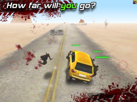 zombie highway screen1 - Zombie Voiture