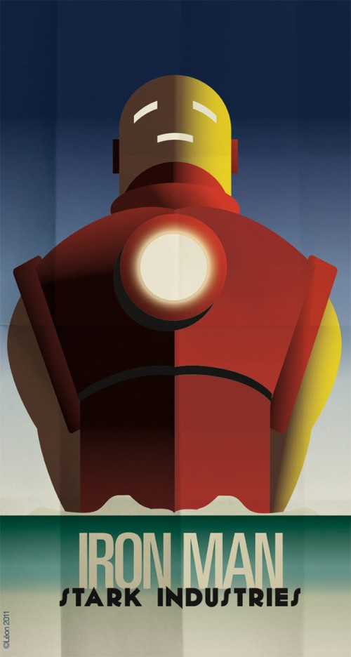art-deco-superheroes
