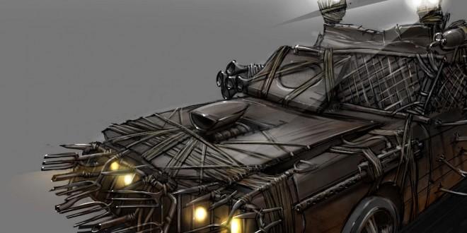 la voiture pour survivre aux zombies back to the geek - Zombie Voiture