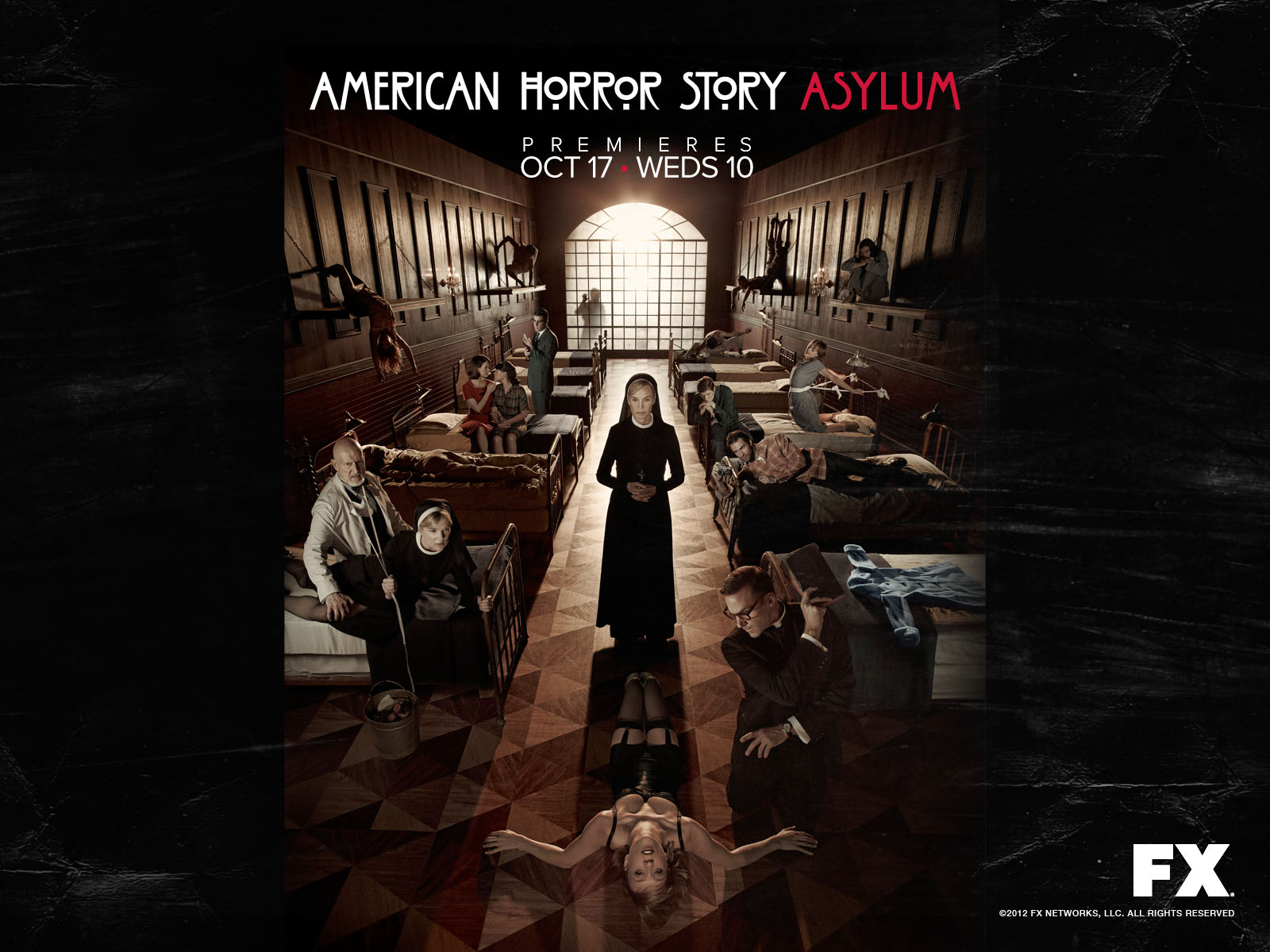 American Horror Story Hd Wallpaper: Wallpapers : American Horror Story Asylum
