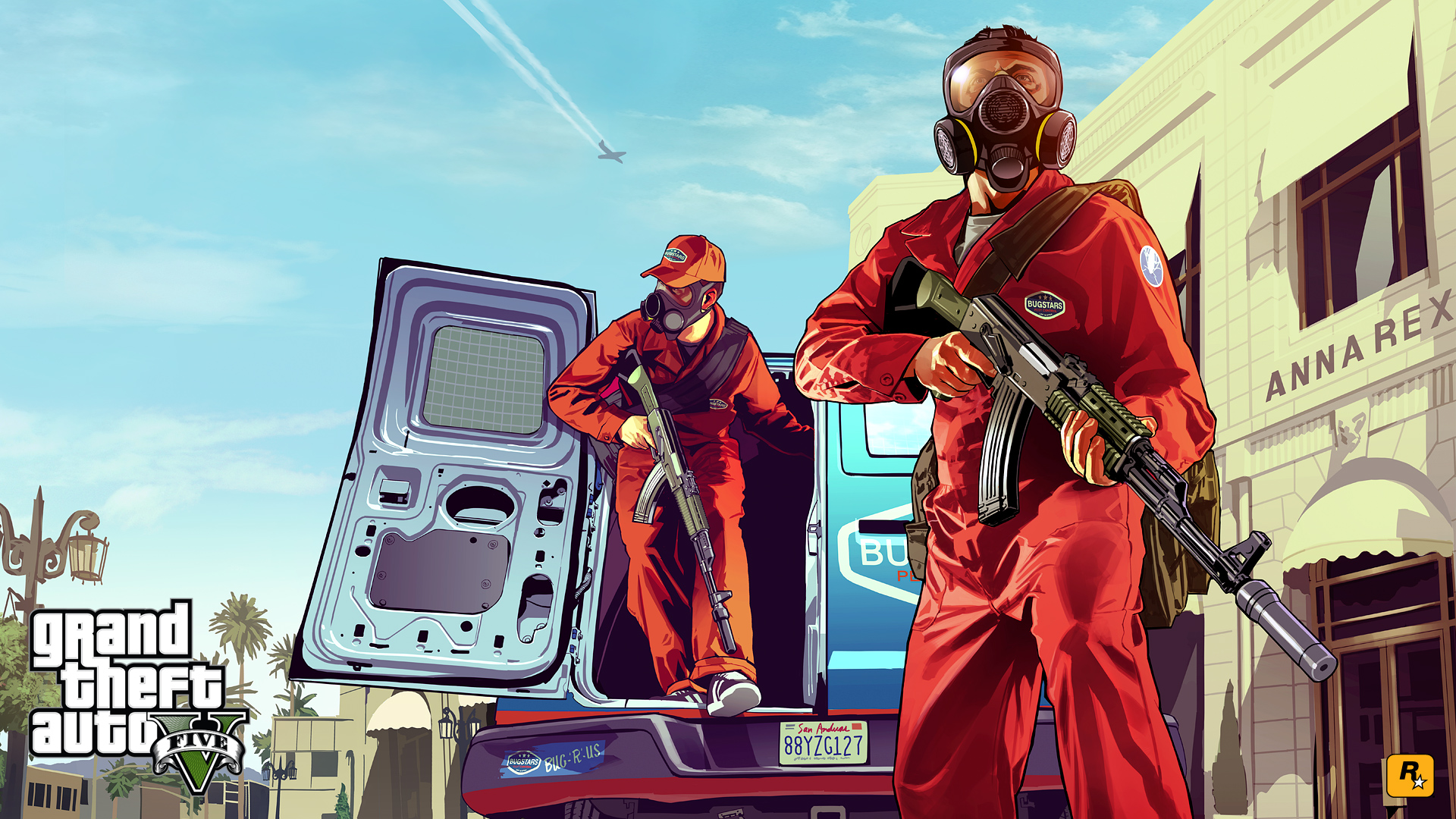 Wallpapers : GTA V En Artwork