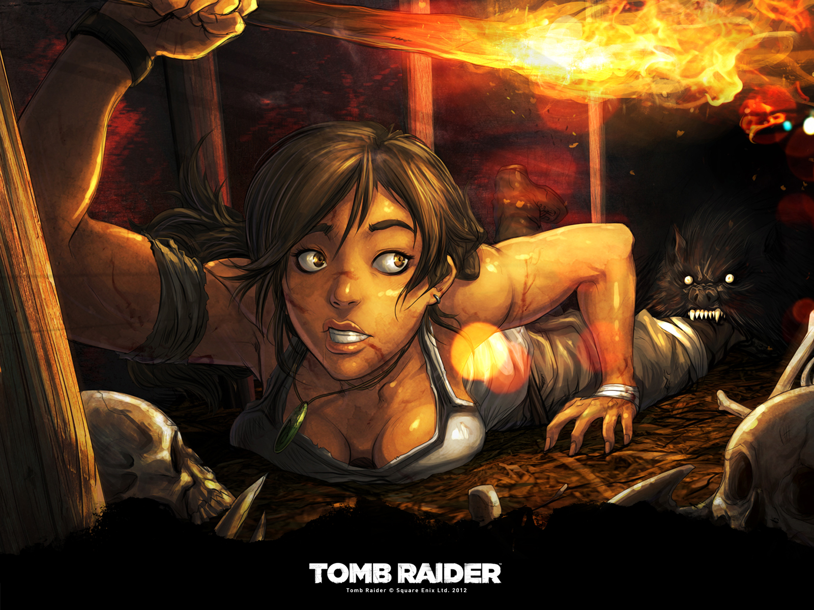 wallpapers tomb raider et la belle lara croft back to the geek. Black Bedroom Furniture Sets. Home Design Ideas