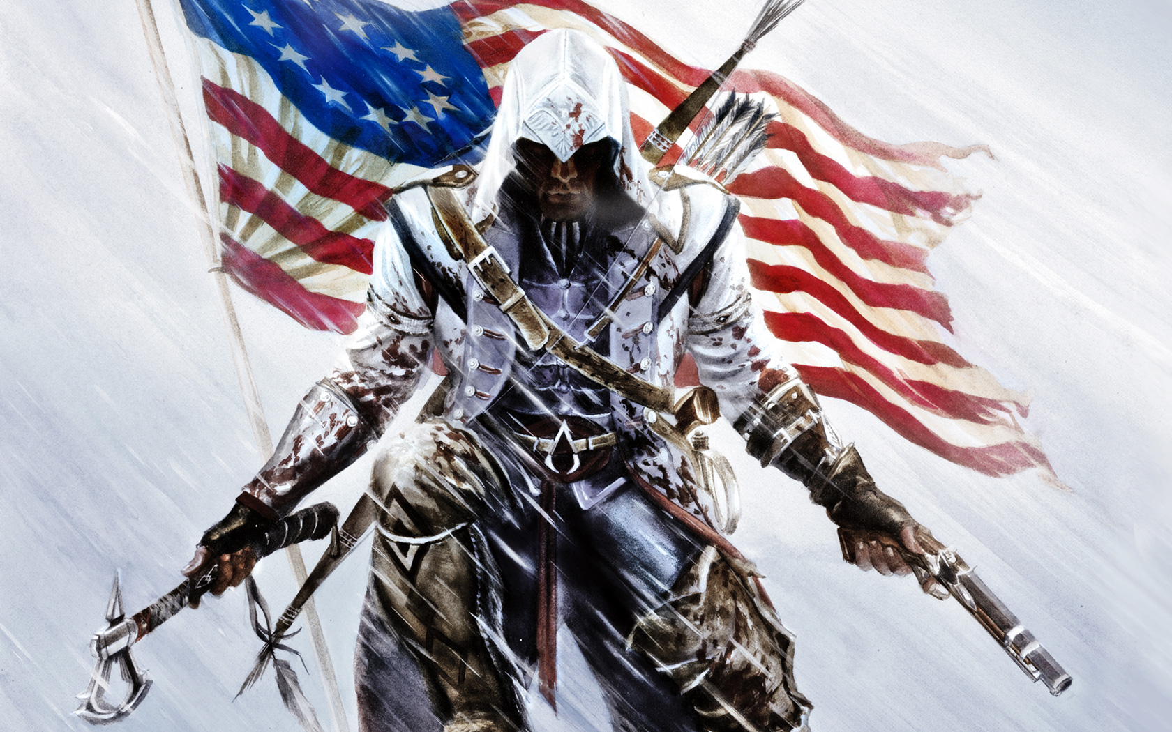 wallpapers assassin 39 s creed iii back to the geek. Black Bedroom Furniture Sets. Home Design Ideas