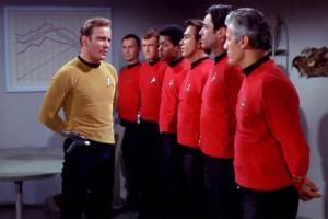 Les Red Shirts de Star Trek