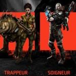 Evolve-Chasseurs-Classes-Assaut-Trappeur-Soigneur-Soutien-Hunters-Assault-Trapper-Medic-Support-2K-Turtle-Rock