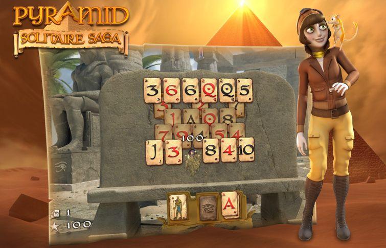 Pyramide Solitaire Saga – Le p'tit test !