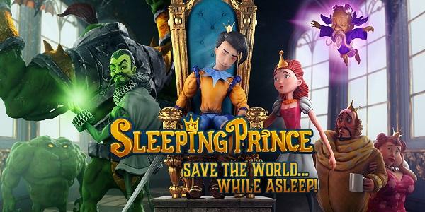 The Sleeping Prince – Le test sur iPad en dormant.