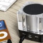 Enceinte-Bluetooth-Olixar-Cube-Lumière-test