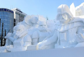 Star Wars au Japon, tout en neige