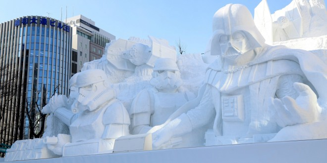 sapporo-star-wars-japon-sculpture-neige-glace