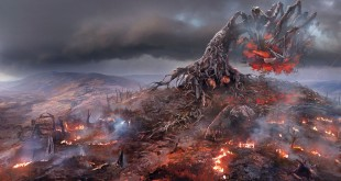 Witcher 3 Wild Hunt - Demonic_Tree