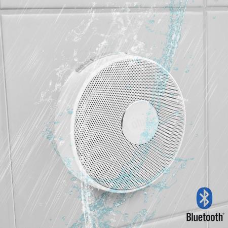 Enceinte bluetooth olixar aqualux pour la douche notre test en milieu humide back to the geek - Enceinte bluetooth douche ...