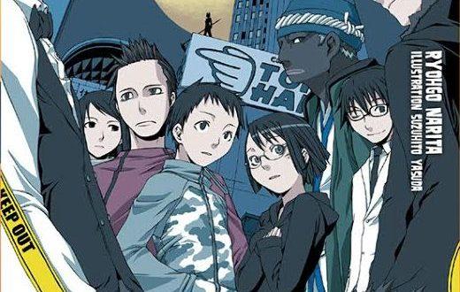 durarara light novel fr vf scan manga jap
