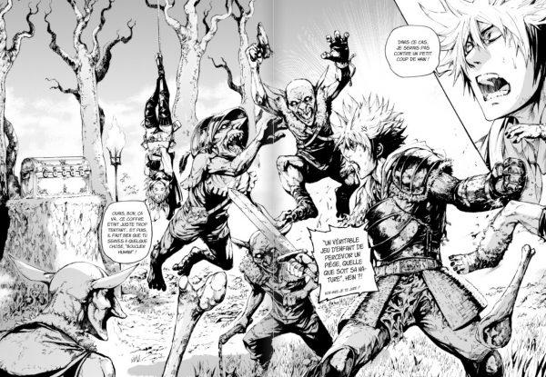 outlaw players manga francais shonen extrait gratuit