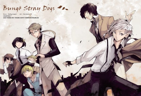 bungo stray dogs manga fr vf avis critique