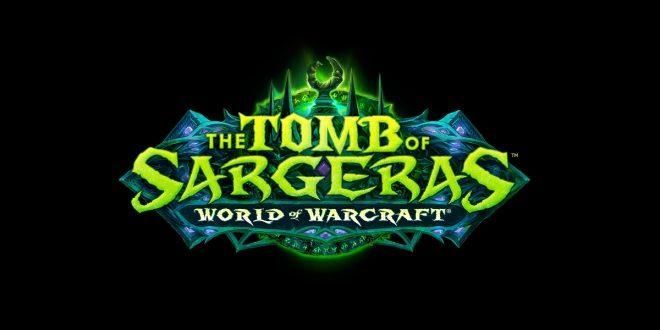 World-Of-Warcraft-Tombe-de-Sargeras-Logo