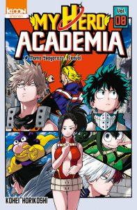 My Hero Academia tome 8 fr manga scan