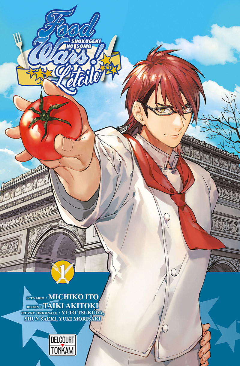 Manga Food Wars Vf