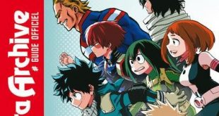 mha Archive Guide Officiel couv fr scan manga