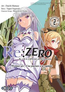 Re-Zero-Re-Life-in-a-different-world-from-zero-avis-manga-review-ototo-edition