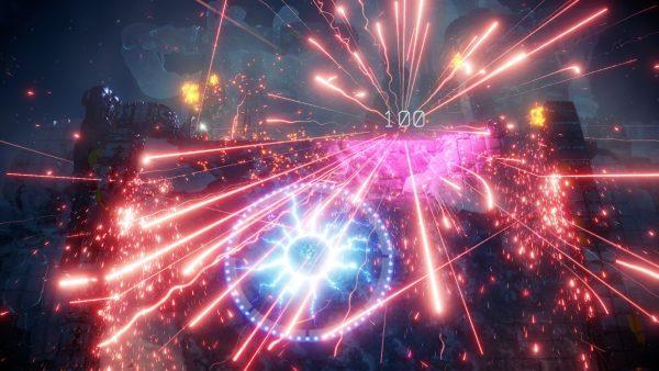 nex machina voxel review gameplay video