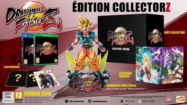 Dragon Ball FighterZ collector fr vf precomande