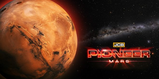 JCB Pioneer Mars artwork fr vf steam early access