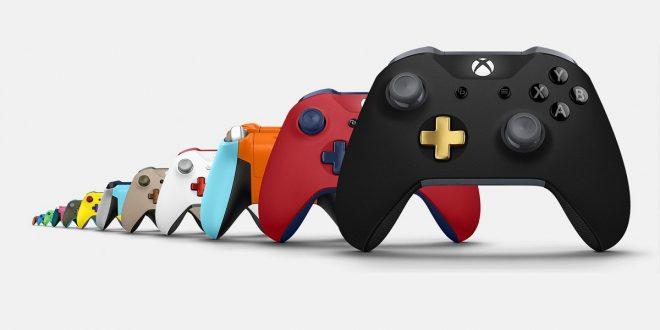 Microsoft-OBox-One-PC-Manette-Personnalisée-Gamepad