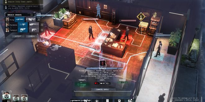 Phantom Doctrine, le nouveau jeu des créateurs de Hard West arrive en 2018