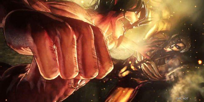 attack on titan 2 annonce fr vf teaser
