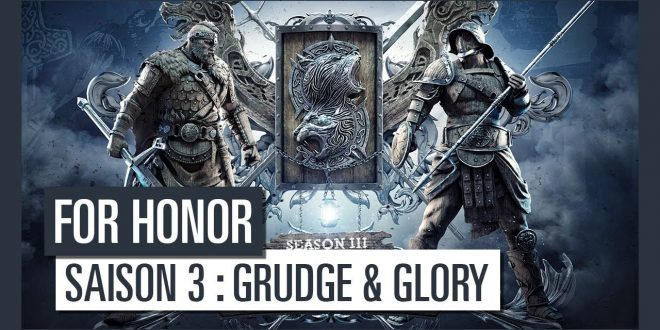 for-honor-saison-3-grudge-and-glory-ubisoft-trailer-video-nouveaux-heros-gladiateur-highlander