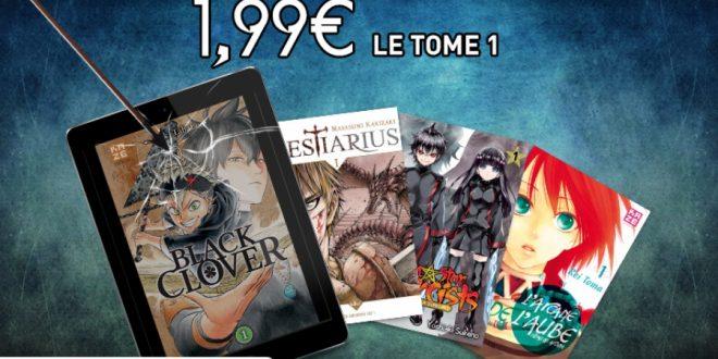Kazé propose des mangas à 1,99€ pendant une durée limitée