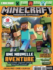 minecraft magazine officiel 1 fr vf scan