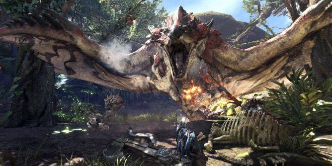 monster hunter world ps4 trailer gameplay fr vf