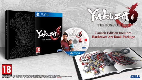 yakuza 6 edition limitee fr vf sega