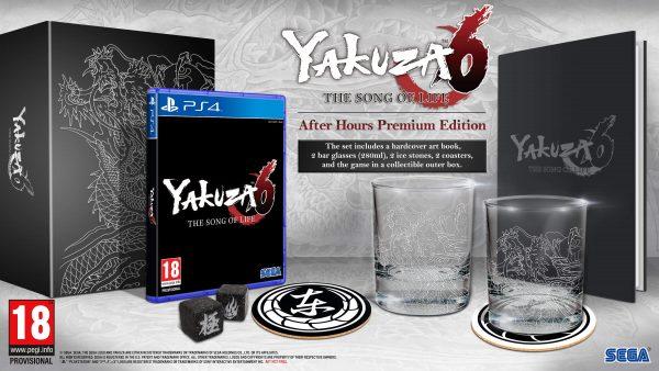 yakuza 6 edition premium collector limitee fr vf