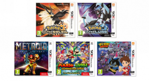 Nintendo-3DS-2DS-Pokemon-Ultra-Soleil-Lune-Metroid-Samus-Returns-Mario-Et-Luigi-Superstar-Saga-Yo-Kai-Watch-2