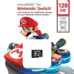 Nintendo-Switch-Sandisk-Western-Digital-Carte-Mémoire-MicroSDXC-128
