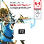 Nintendo-Switch-Sandisk-Western-Digital-Carte-Mémoire-MicroSDXC-64