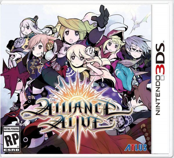 alliance alive jaquette 3ds fr vf