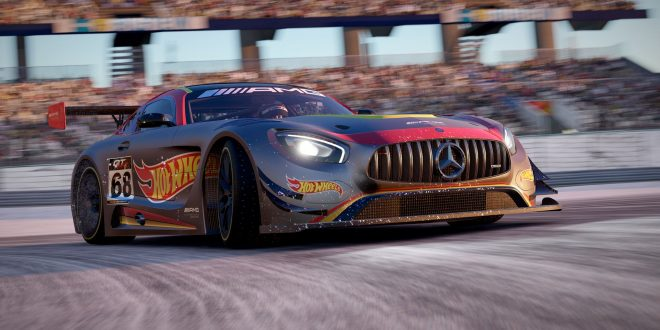 Mercedes_AMG_GT3_ project cars 2 hot wheels