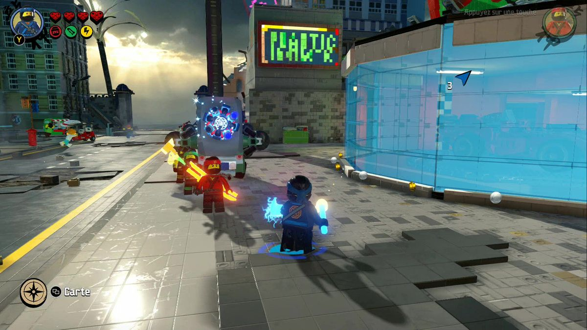 Lego ninjago le film le jeu vid o le test de roman sur - Jeu lego ninjago gratuit ...