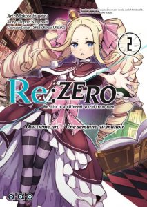 re zero arc2 tome 2 fr vf scan manga