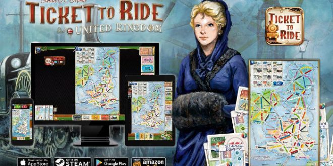 Ticket to Ride : United Kingdom disponible sur iOS et Androïd