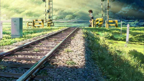 kimi no na wa makoto shinkai train
