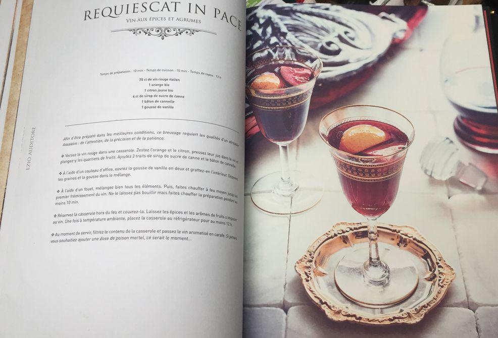 Assassin 39 s creed le codex culinaire avis livres - Livre de cuisine hachette ...