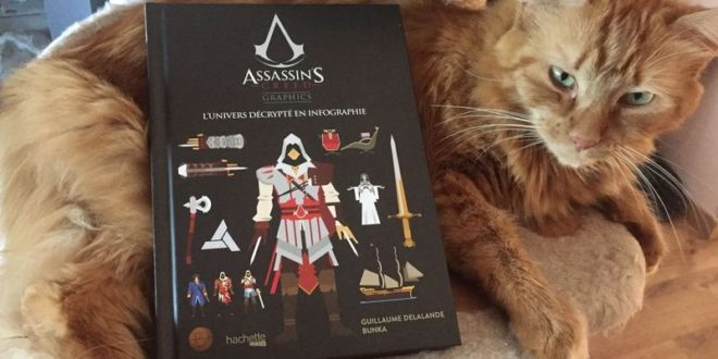 assassins-creed-graphics-univers-infographie-livre-hachette-heroes-guillaume-delalande-concours-chat
