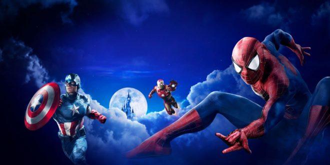 Disneyland Paris – Avant-Première de la saison des Super Héros Marvel au Yoyo – Palais de Tokyo