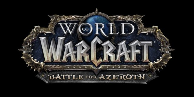 World-of-Warcraft-Battle-for-Azeroth-Blizzard-MMORPG-Logo