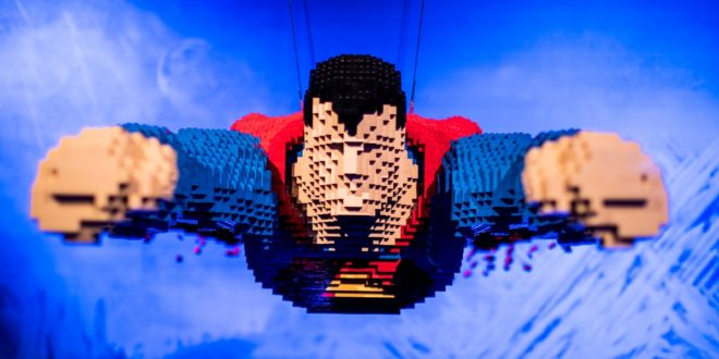 The Art Of The Brick : DC Super Heroes – L'exposition Lego des Super-Héros DC au parc de la Villette dès le 29 avril